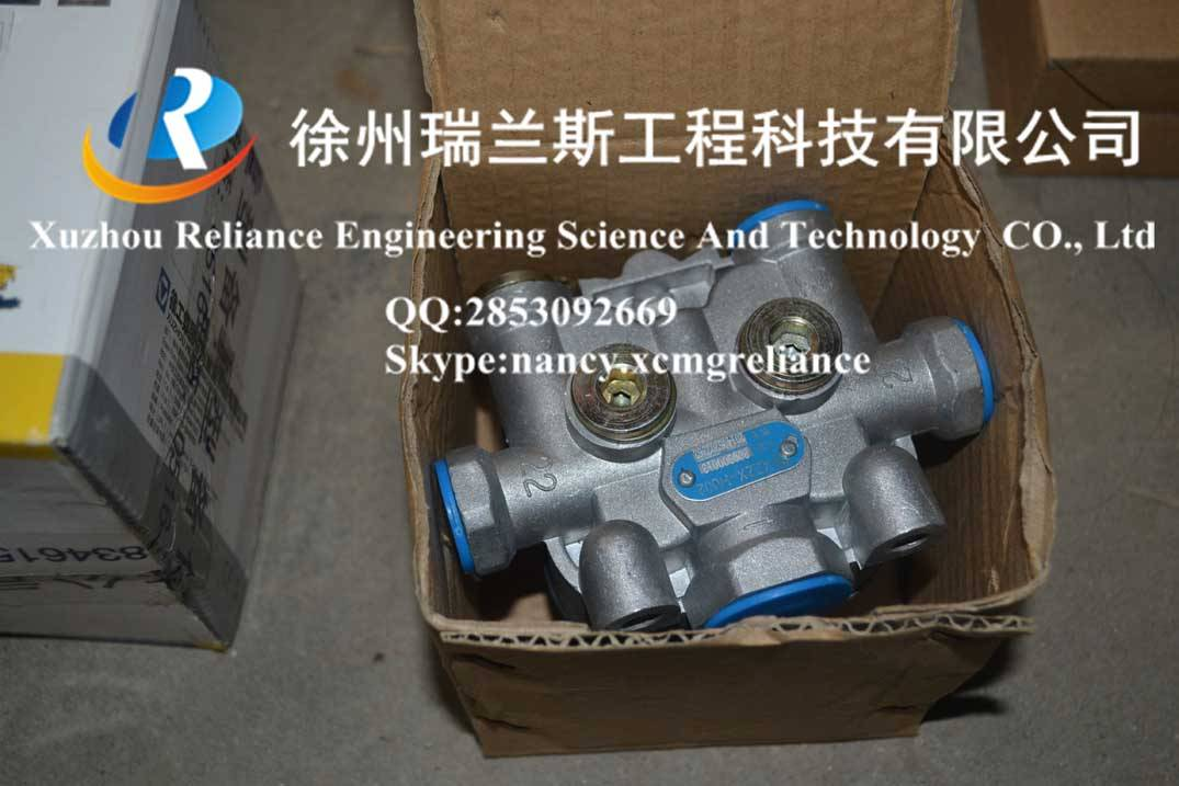 XCMG spare parts-crane-qy25k5s-Four circuit safety valve-800900013