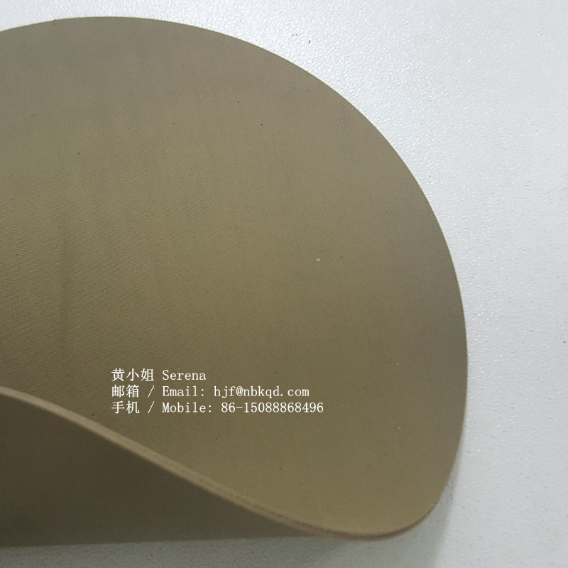 0.6mm Wear Resistant Yellow Hypalon Fabric for Military Gear