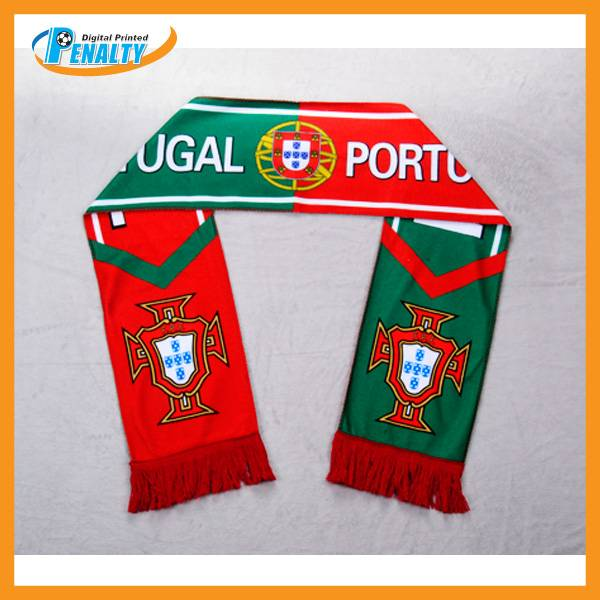 2014 Brazil World cup Portugal team scarf wholesale from China supplier