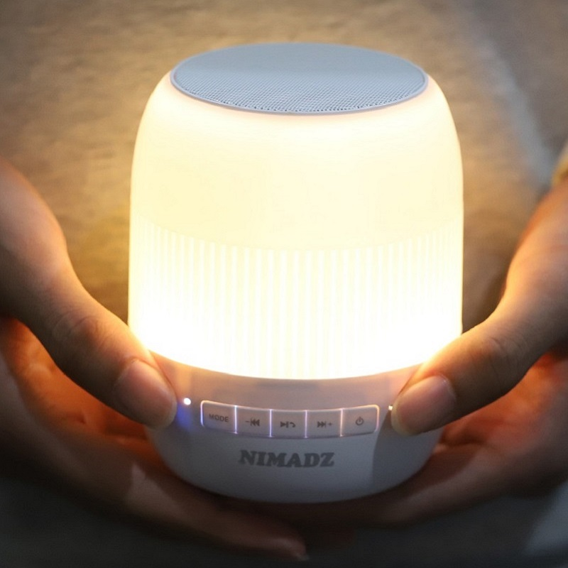 F300 Hifi wireless Bluetooth Speaker and colourful sleeping lamp