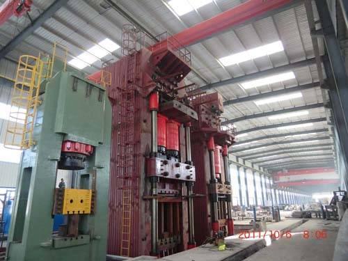 20000 ton close die forging hydraulic press