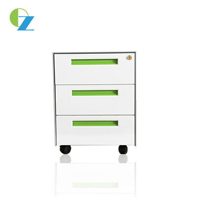 China moveable cabinet, 3 drawer mobile pedestal supplier,CRS 0.5-1.2 material available