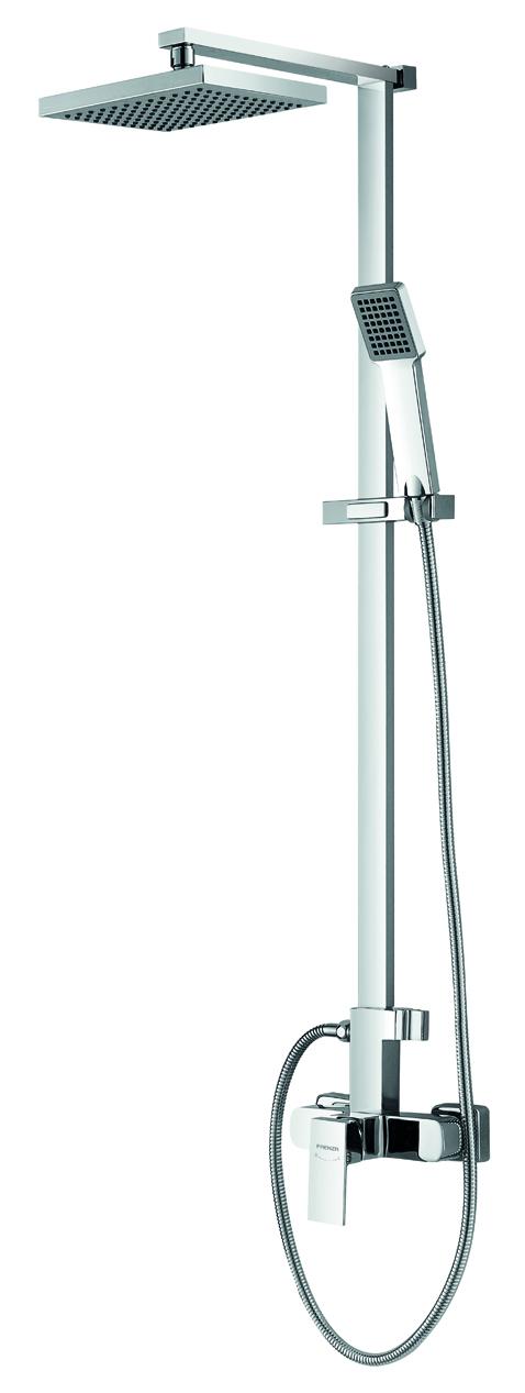 Shower with shower head & shower hose& hand shower