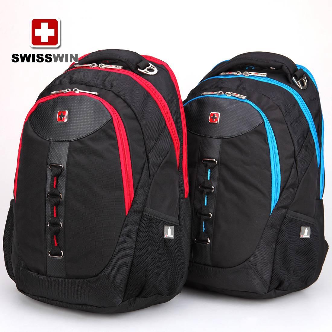 SWISSWIN Army Knife fashion sports men and women shoulder backpack schoolbag backpack