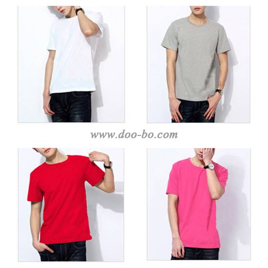 100%combed cotton men t shirts with printing