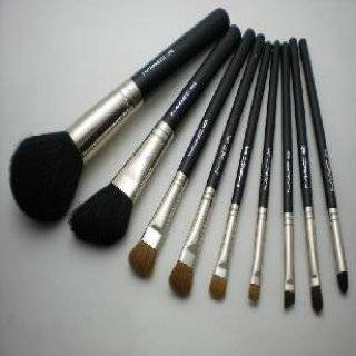 9pc MAC brushes