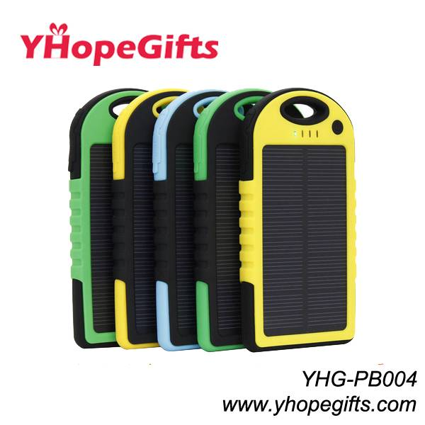 Solar power bank/charger