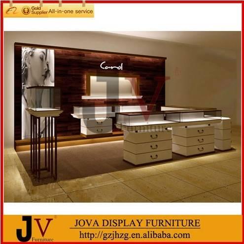 Elegant luxury brand name Carol jewelry display cabinet