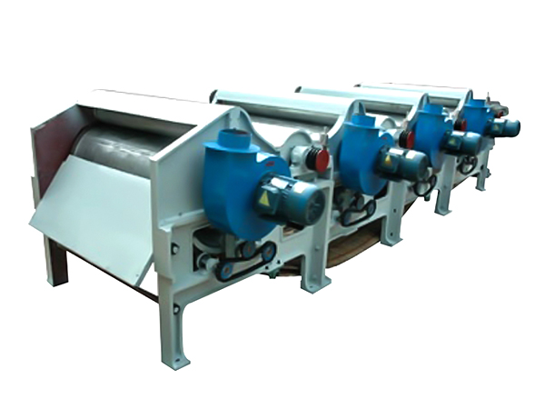 GM250 textile waste recycling machine with four rollers