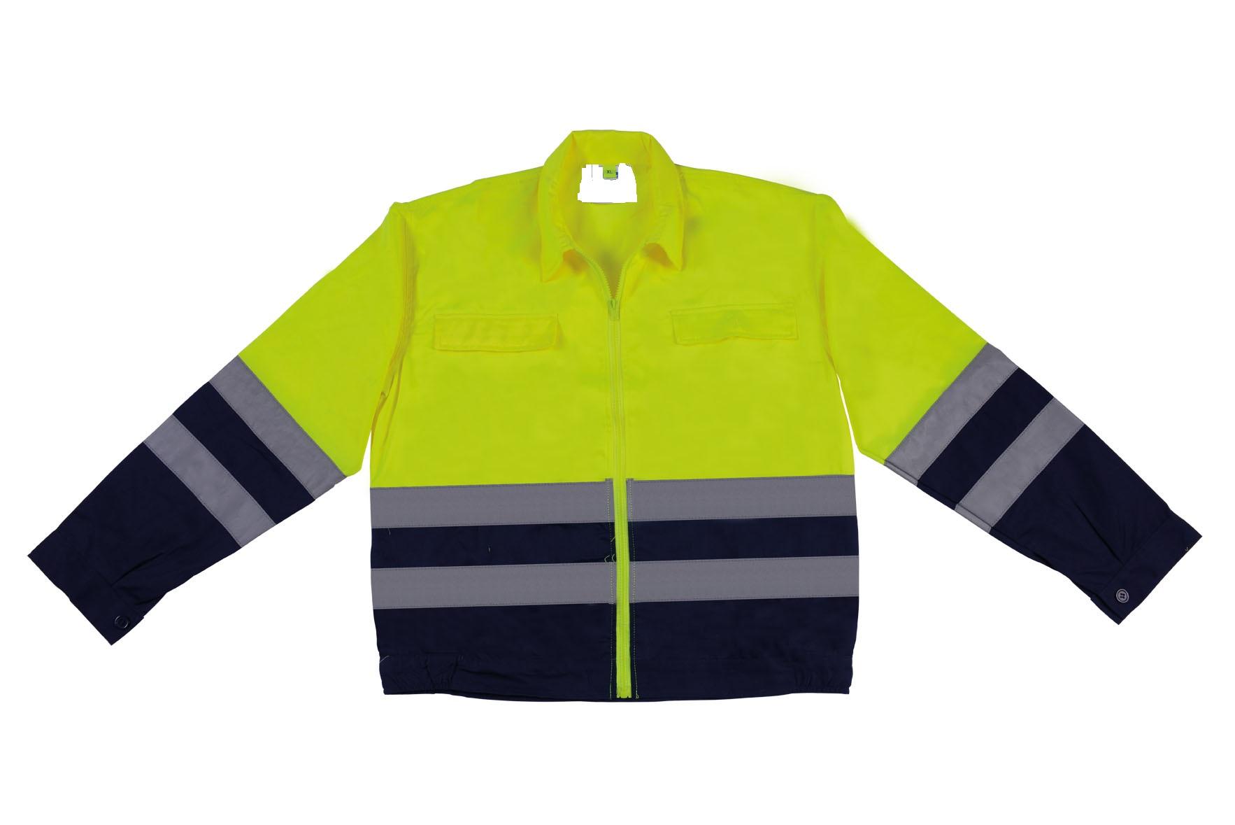 two-tone safety jacket RXJ01