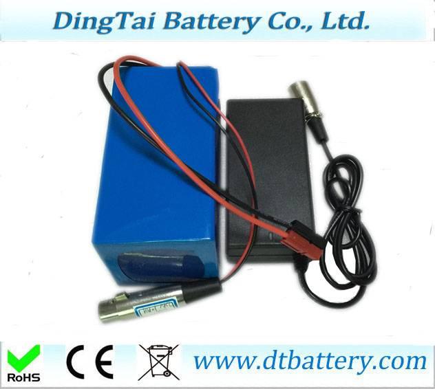 500w 750w Li-ion 48V 11.6Ah panason ic 2900mah pack with charger