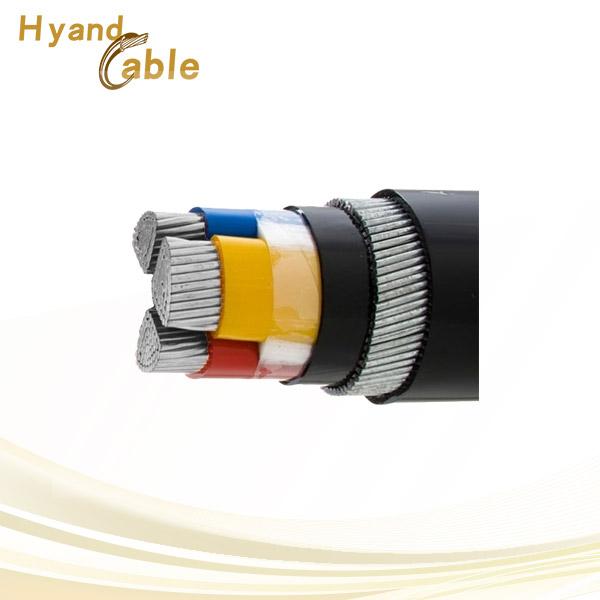 3 core aluminium armoured power cable