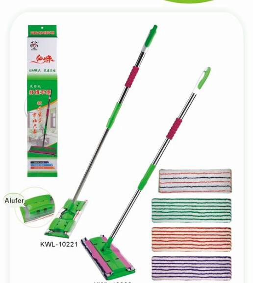 Microfiber mop/microfiber floot cleaning mop/floor wipe squeegee