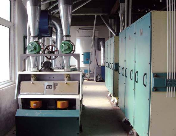 60T Building structure of Wheat Flour Production equipment