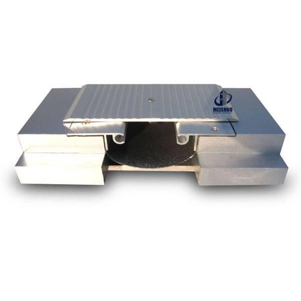 Aluminium alloy floor concrete expansion joint covers