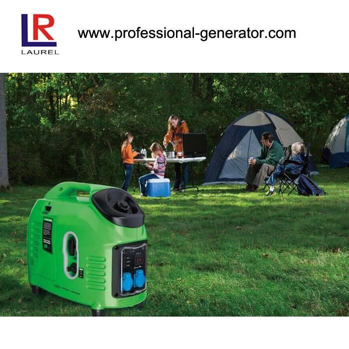 Portable Digital Inverter Gasoline Generator, 1kVA to 3kVA with 4-Stroke