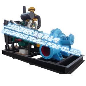 Diesel engine driving pump