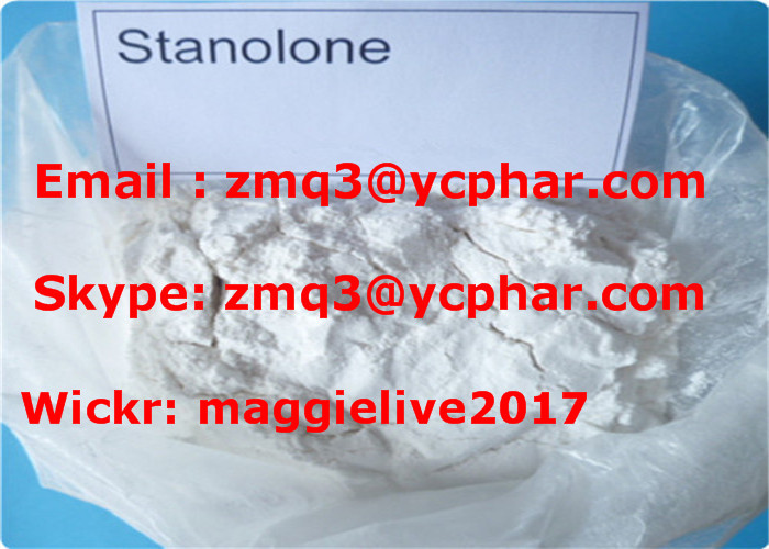 High Purity Muscle Growth 99% Stanolone/Anabolex (521-18-6)