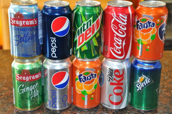 Canned Soft Drinks