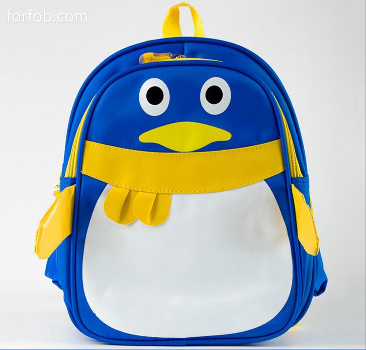 Kindergarten Kids Backpack School Bag Penguin Style
