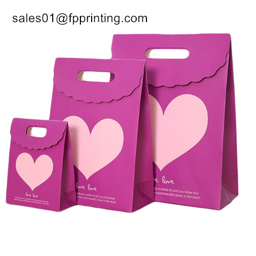 China Custom Gift Paper Bag for Packaging