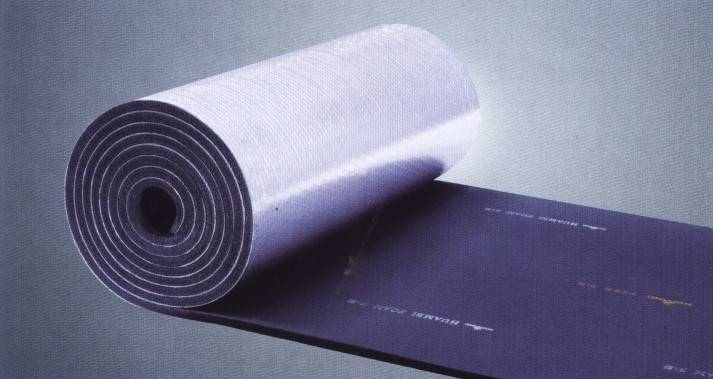 aluminum foil rubber foam roll