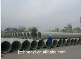 FRP pipe for desalination