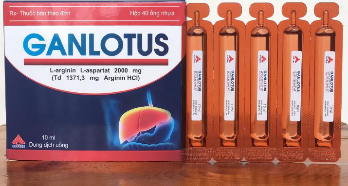 Oral Solution Ganlotus L-arginine L-aspartate
