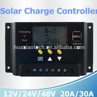 Waterproof solar charge controller 12V/24V/48V 20A/30A