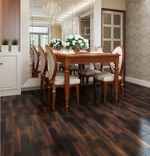 Laminate flooring for dining room Economic price MDF AC2
