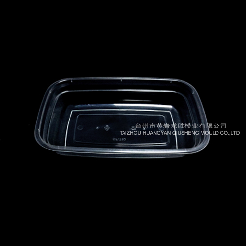 1000ML pp disposable plastic transparent takeaway boxes container plastic mould