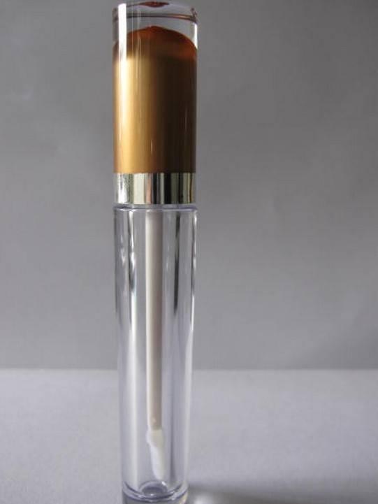 plastic empty lip gloss bottle lip balm bottle for cosmetic packaging