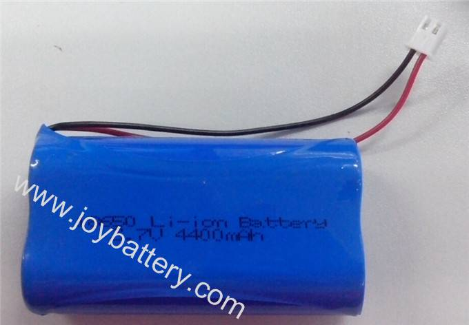 Rechargeable 18650 3.7V 4400mAh lithium ion battery with PCM protection
