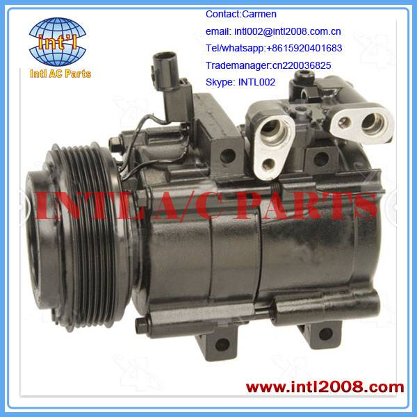 Auto compressor 113MM 6PK 12V for Kia Sedona 2002-2005 brand new FOUR SEASON 57119
