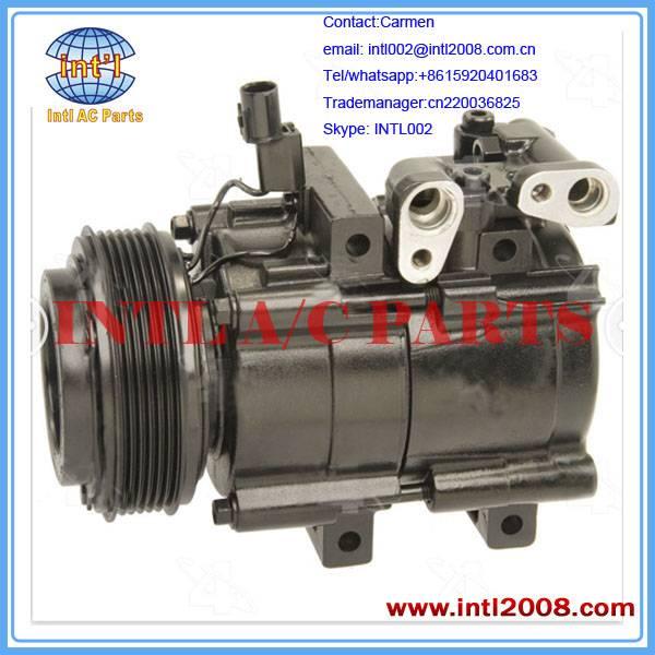 Auto compressor 113MM 6PK 12V for Kia Sedona 2002-2005 brand new FOUR SEASON 57119