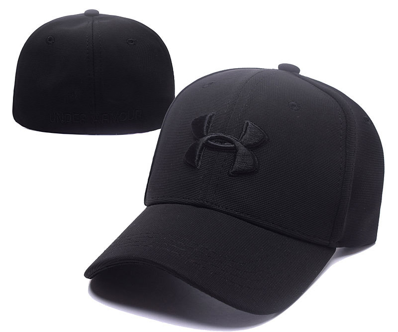 Under Armour Stretch Fitted Hats Black