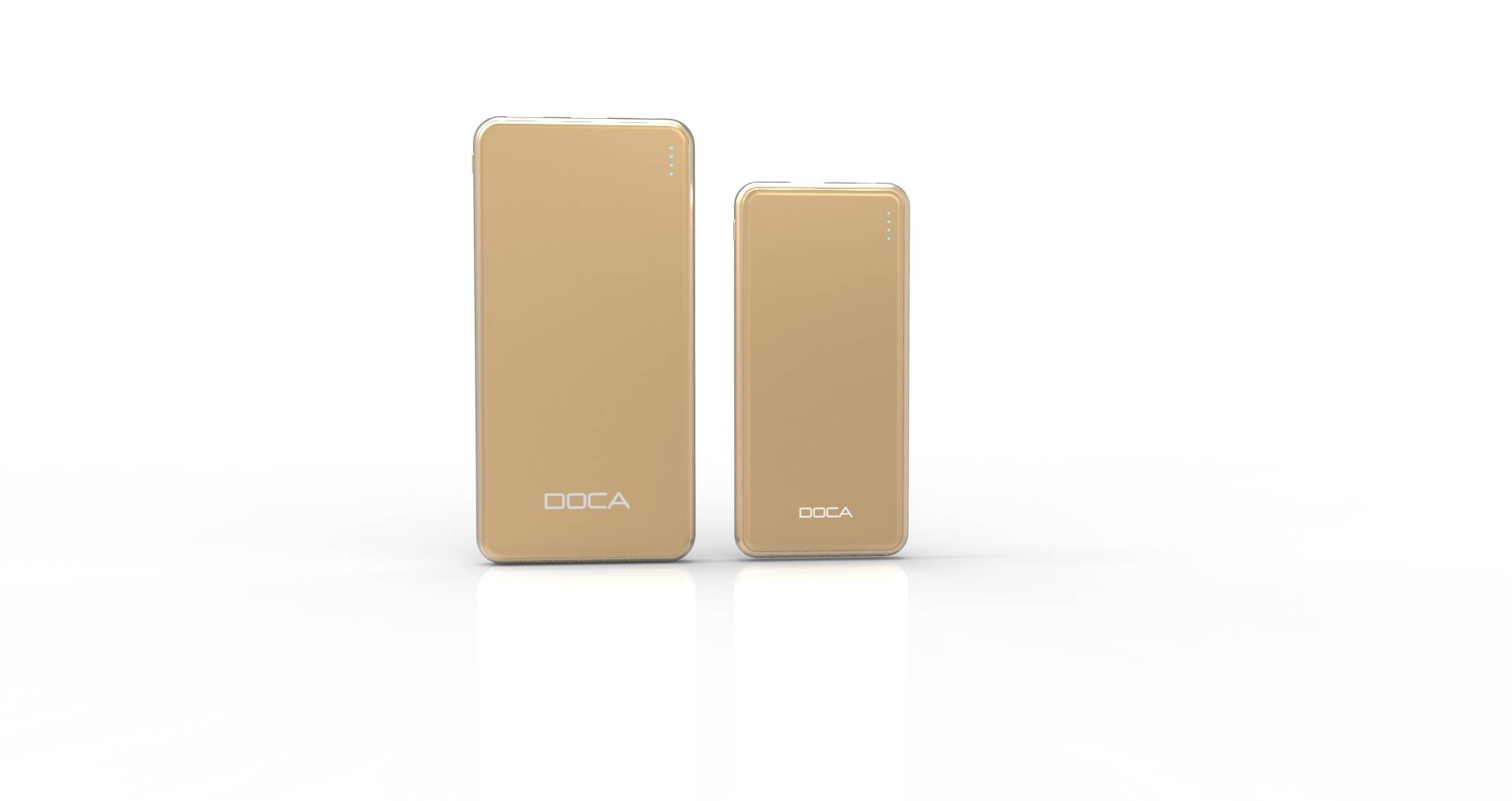 Ultra-thin 10000mAh portable power bank for mobile phone