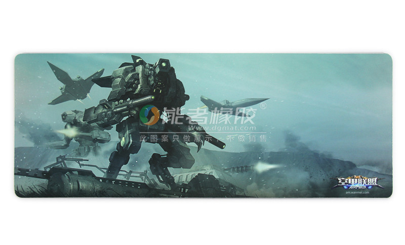 SGS Inspection Passed Large Custom Printed Manga Girls Gaming Mouse pad Factory