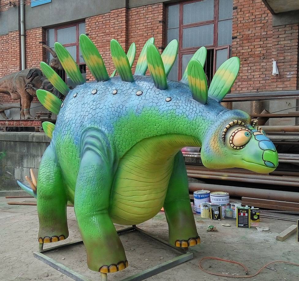 Custom FRP Artificial Dinosaur for Sale