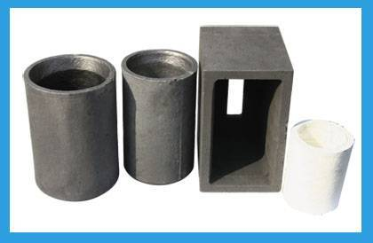 Graphite protective cup
