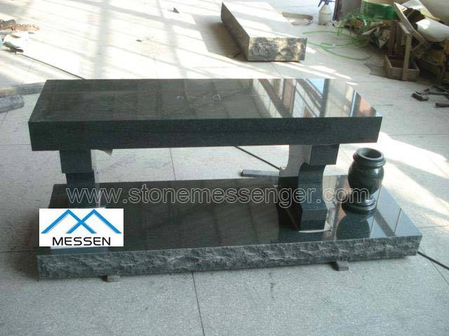 Granite Cremation Benches