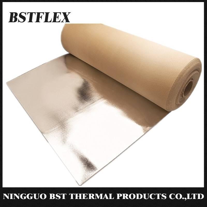Aluminized Silica Fiber Fabric