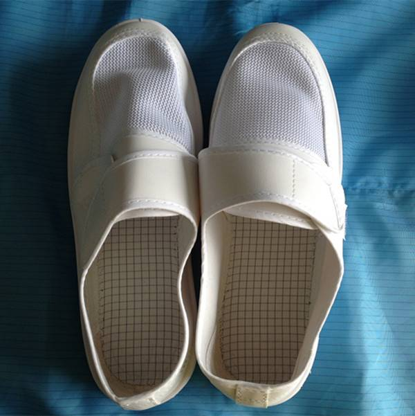 cleanroom esd pu pvc factory shoes china