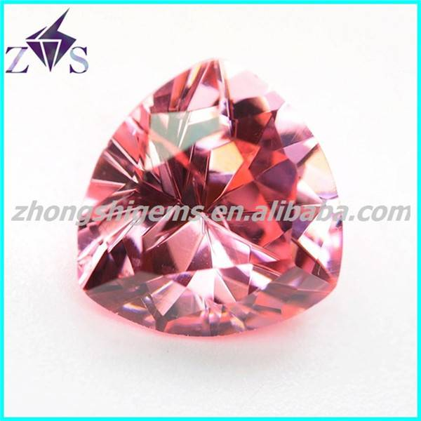 Popular Trillion Cut Synthetic Gemstone for Jewelry