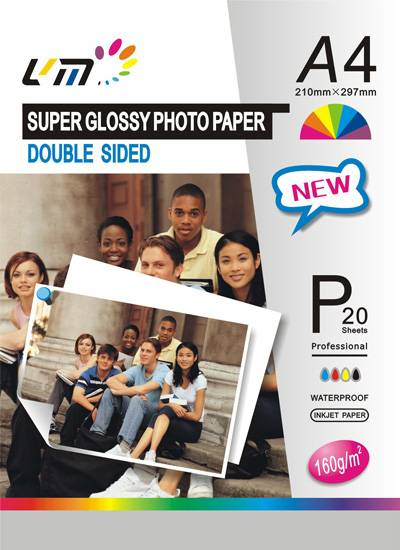 160g Duo side Glossy Photo Paper
