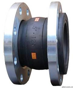 china JIS flange Flexible Rubber Expansion Joints/ JIS flange Flexible Rubber bellow
