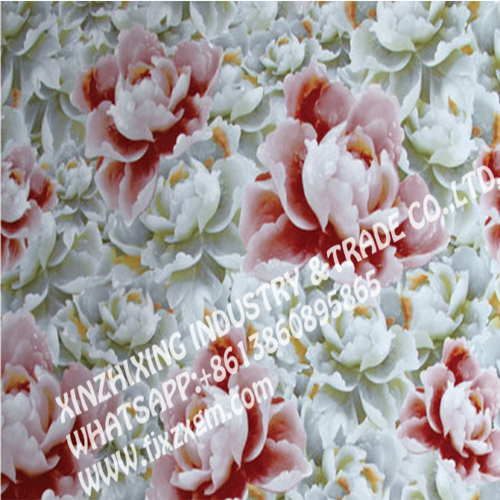High quality flower UV marble sheet