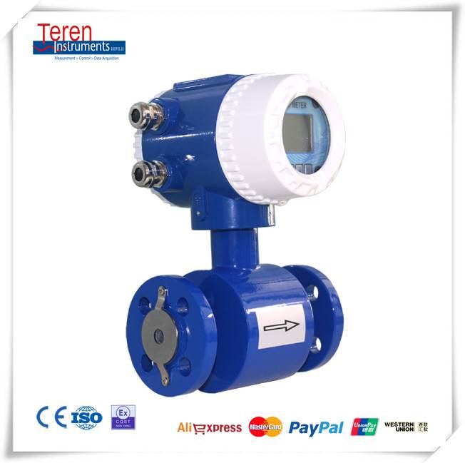 Magnetic Flow meter with pulse and analog output(CE Approved)