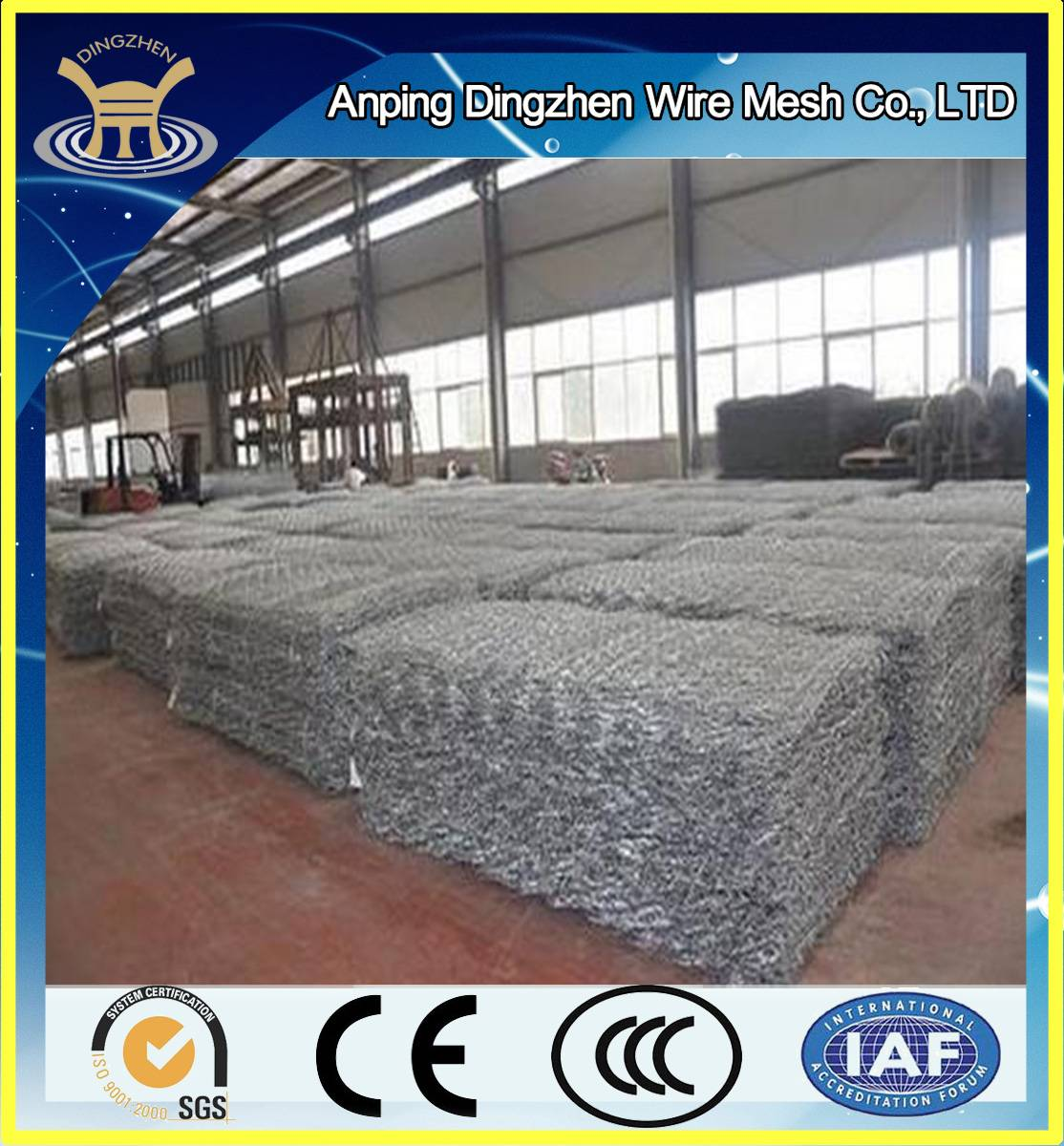 stainless steel galvanized gabion for sale