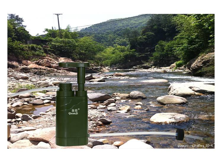 Outdoor Portable Hunting Survival Mini Water Purifier Filter Filters